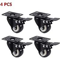 4 ruedas giratorias de alto rendimiento de doble