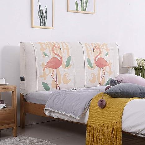 Amazon.com: WENZHE Almohadillas tapizadas para cabecero de ...