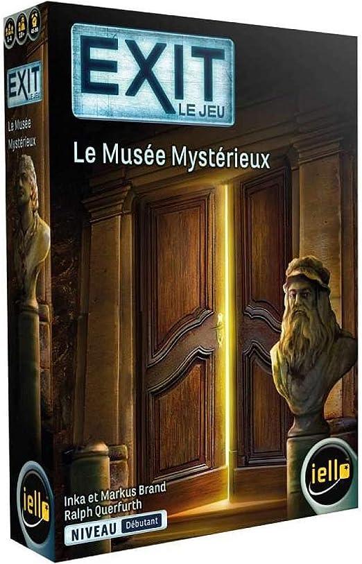 IELLO- Exit - Le Musée mysterieux (51627): Amazon.es: Juguetes y juegos