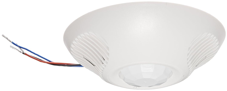 Hubbell ATD2000C Ceiling Sensor, Adaptive Technology, Ultrasonic, Passive Infrared, White, 2000sqft Max Sensing Range: Electronic Component Sensors: ...
