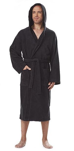 Astra Women s Men s Hooded Bathrobe 100% Turkish Terry Cotton Robe ... 172a6b99c