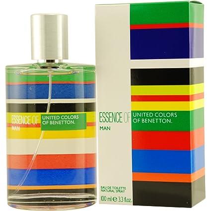 Agua de colonia benetton essence man con vaporizador .100