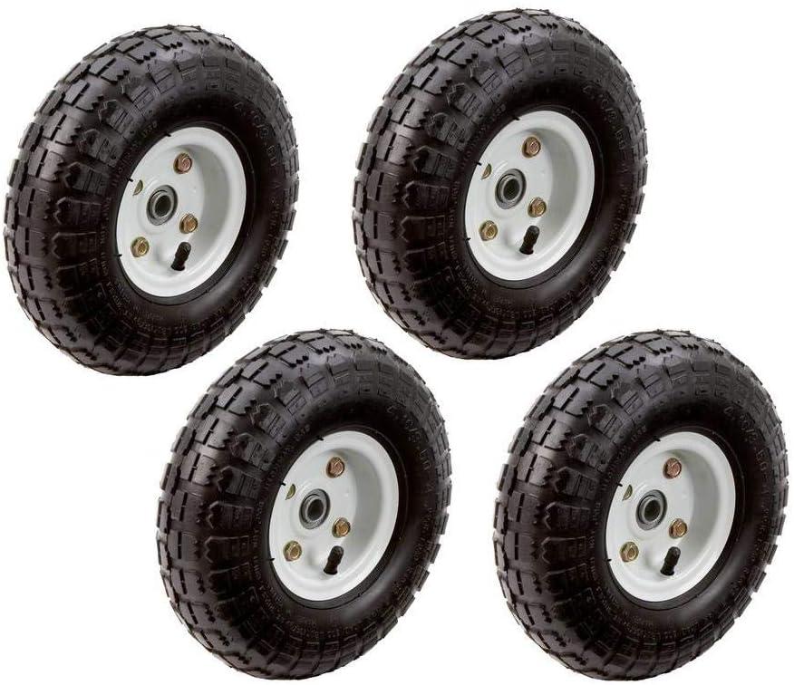 Amazon.com: 4pc-Set de 10 en. Rueda de llantas de neumáticos ...