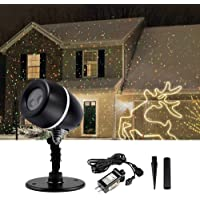 Auxmart Christmas Laser Lights LED Projector Outdoor Decoration