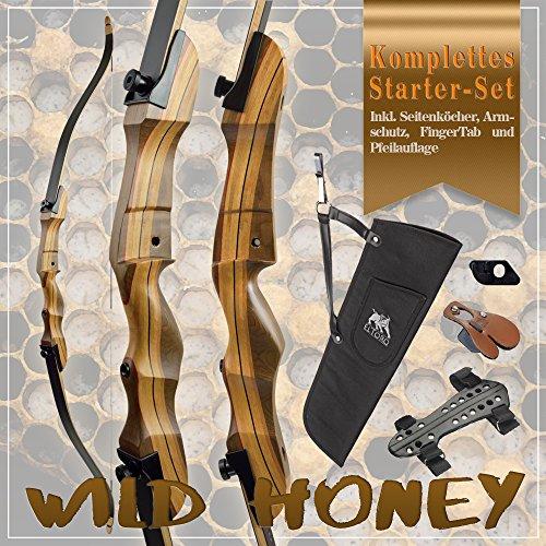 [SPECIAL] SET Wild Honey - Take Down - 68 Zoll / 32 lbs - Recurvebogen