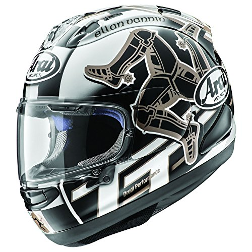 (Arai Corsair-X Isle of Man 2017 Motorcycle Helmet Medium (More Size Options))