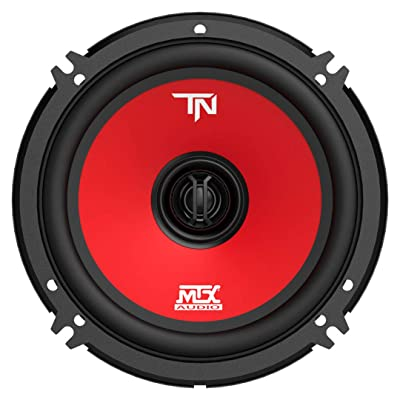 MTX Terminator6 45 Watt RMS 2 Way Polypropylene Coaxial Car Speakers, Pair: Automotive