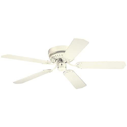 Westinghouse 7805300, Casanova White Flush Mount 52 Ceiling Fan