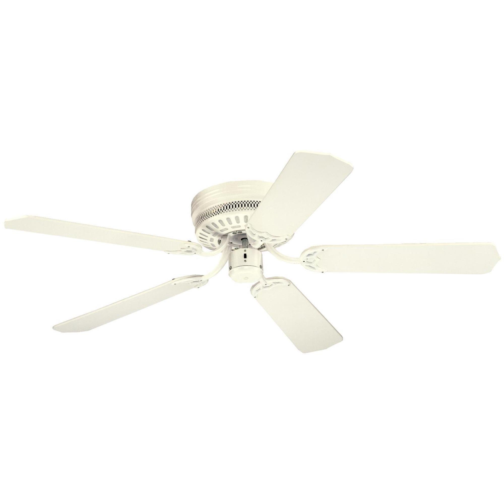 Westinghouse 7805300, Casanova White Flush Mount 52'' Ceiling Fan
