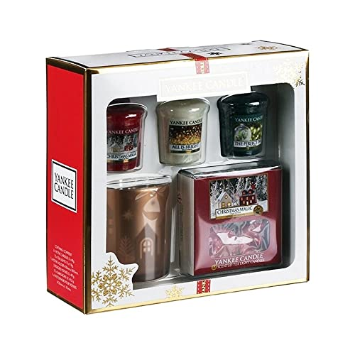 Yankee Candle The Perfect Christmas Tea Lights and 3 Votive Gift Set
