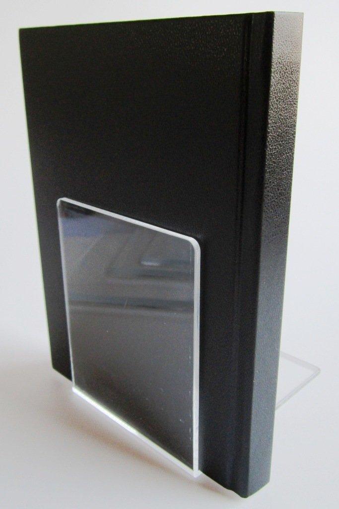 klar 10 x 8 x 10 cm LE-ONs/® Buchst/ützen aus Acryl VE=2 St/ück