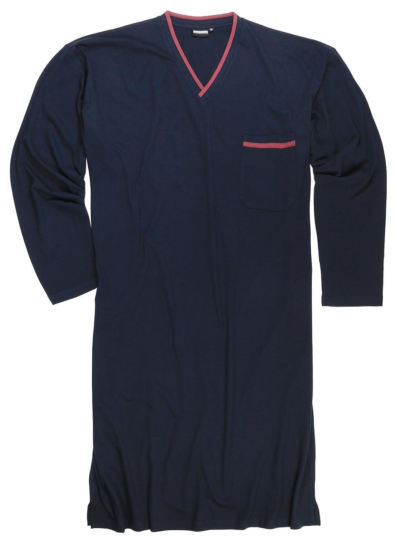 ADAMO Dunkelblaues Übergrößen Nachthemd, XXL bis 10XL 119263-360