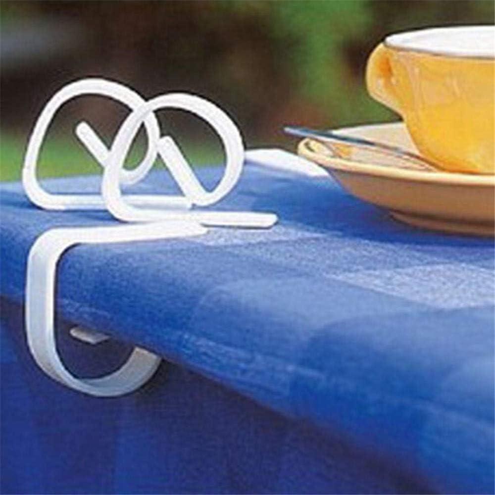 LQKYWNA Clip Nappe De Haute Qualit/é Tissu Pique-Nique Table Clip Pince De Table Souple Support Mariage Tente Pique-Nique F/ête De No/ël