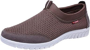 Men Summer Business Sport Shoes Knit