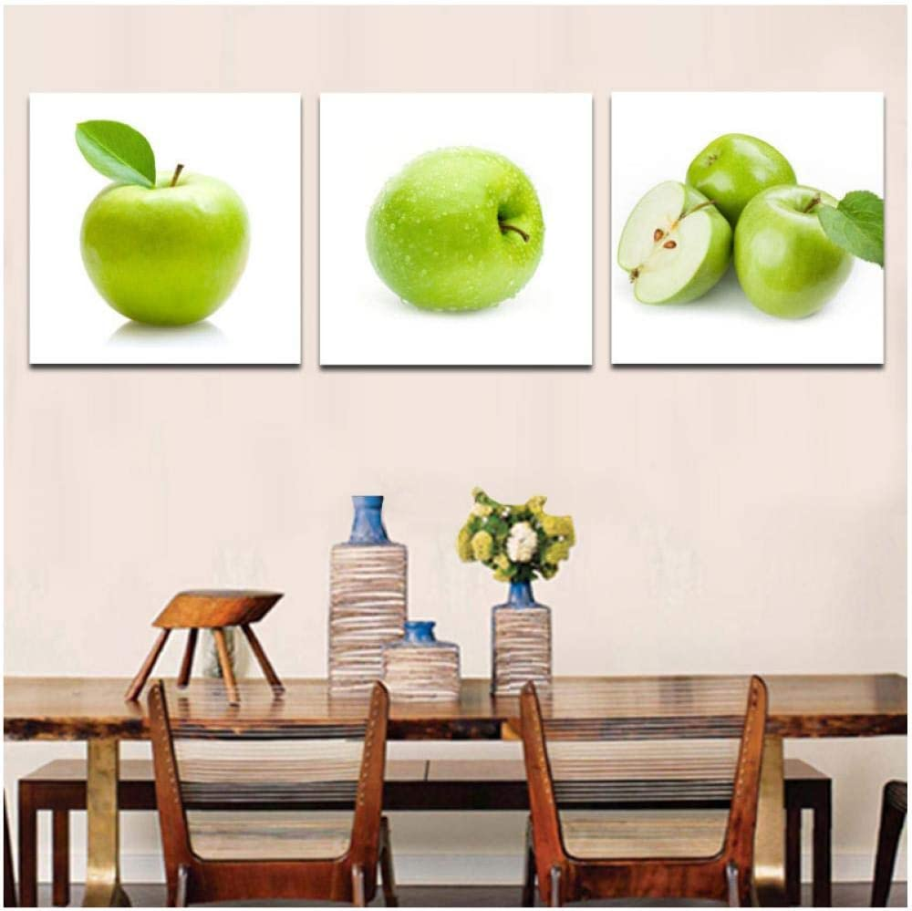 Amazon.com: IGZAKER Green Apple Modern Paintings Dinning Room Wall