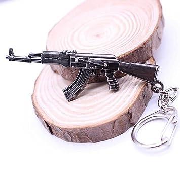 Llavero Llavero Porta Llaves escopeta arma Kalashnikov Soldado Colgante
