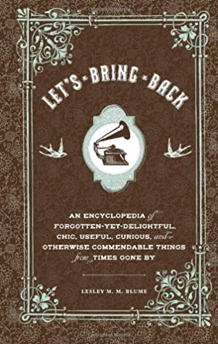 book cover of Let\'s Bring Back...