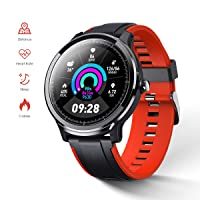 GOKOO Smart Watch Fitness Tracker for Home Health Compatible with iOS and Android...