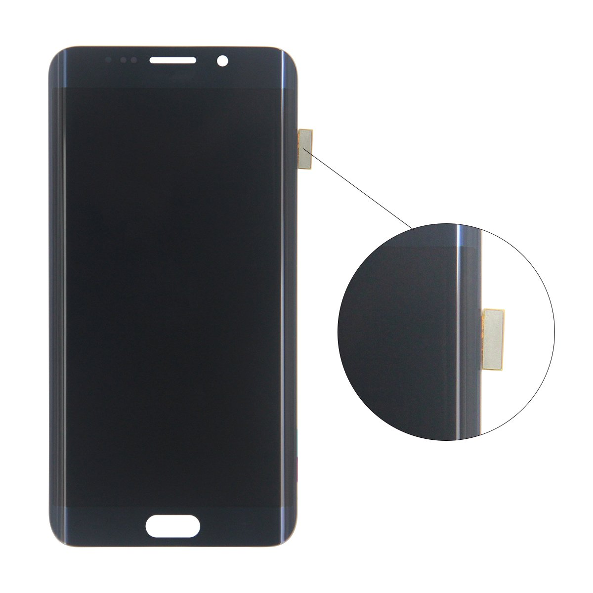 HJSDtech LCD Display Screen Touch Screen Digitizer Assembly Replacement for Samsung Galaxy S6 Edge Plus G928T G928P G928V G928C (Black) by HJSDtech (Image #2)