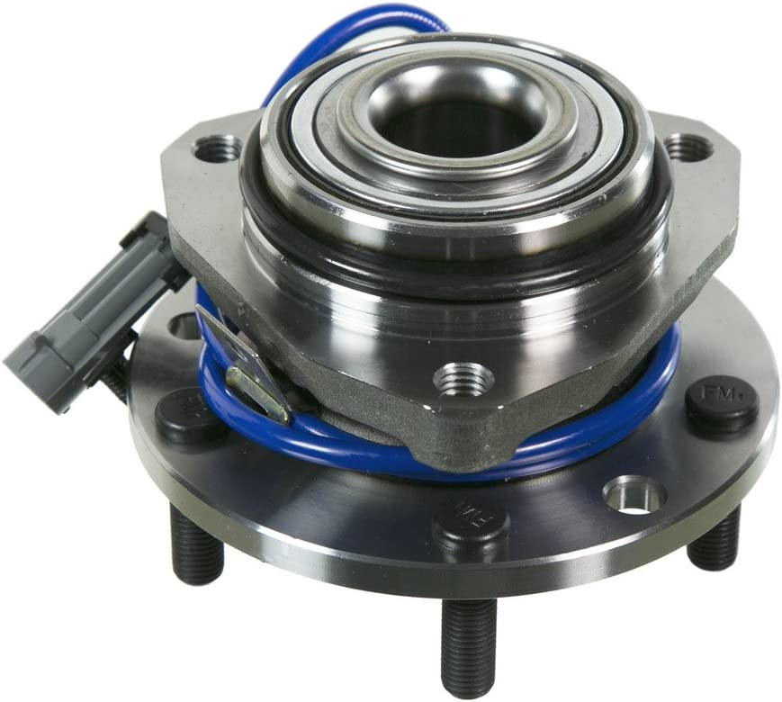 Note: 4-Wheel ABS Stirling 1999 For Chevrolet S10 Front Wheel Bearing and Hub Assembly x 2