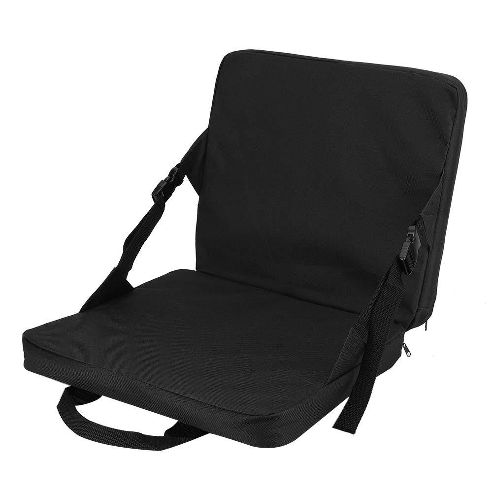 Aiggend Folding Chair, Outdoor Garden Beach Multi-Purpose Multi-Purpose Folding Chair Cushion with Backrest by Aiggend