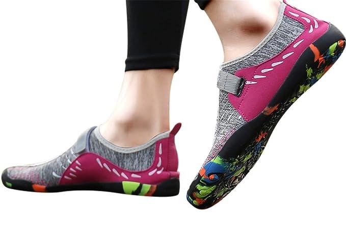 baaa834be3e62 Amazon.com: Fainosmny Womens Shoes Summer Water Shoes Flat Sports ...
