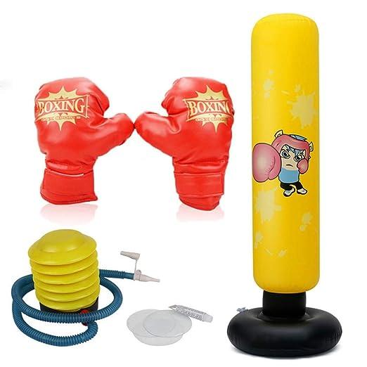 Saco de Boxeo Hinchable,Saco de Boxeo de Suelo para hinchar ...