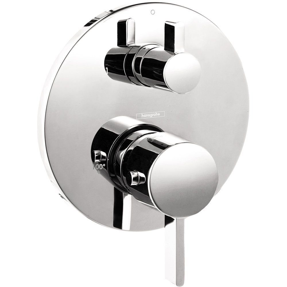 Hansgrohe 04231000 S Thermostatic Trim With Volume Control And ...
