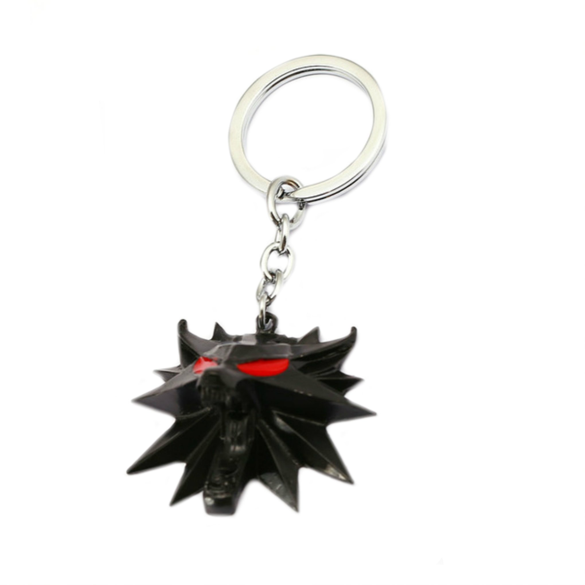 Witcher Keychain Key Ring Video Games PC Console Gaming Auto/Boat House Keys