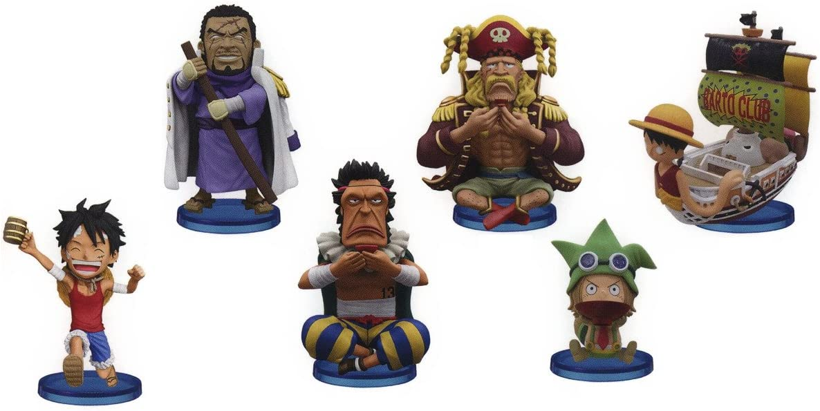 ONE PIECE WCF World Collectable Figure vol.17 Complete set
