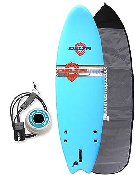 Aliso Comp peces tabla de surf de espuma infantil paquete 5 ft 6 – cielo azul
