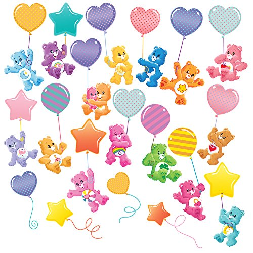 (Care Bears Ballooning Large Wall Decals Set)