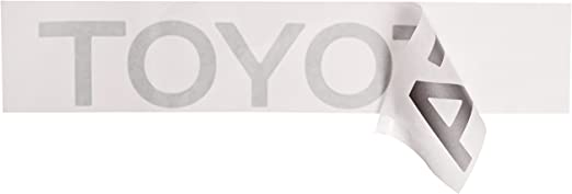 TOYOTA Genuine PT211-TC981-28 Nameplate