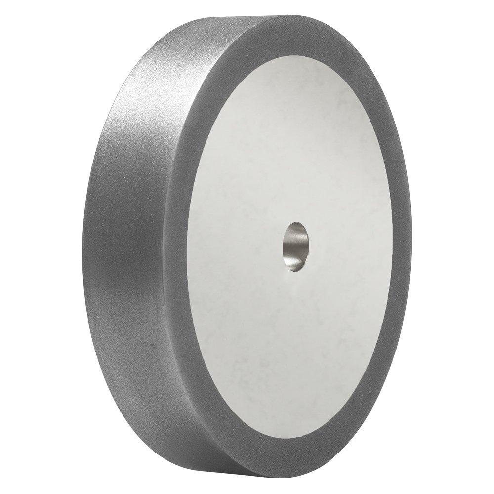 8'' x 1.5'' CBN Grinding Wheel, 5/8'' Bore - Sharpen High Speed Steel & Carbide Tools (80 Grit)