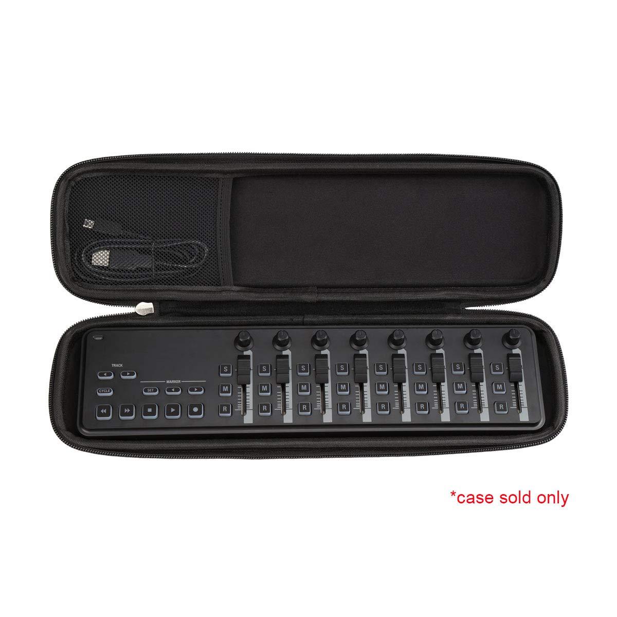 Aproca Hard Travel Protective Case compatible with KORG nanoKONTROL2 / NANOKEY2WH / nanoPAD2 Slim-Line USB Control Surface/MIDI Pads by Aproca