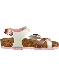 Birkenstock Taormina Kids Metallic Pink-White Sandals Taormina Metallic  Pink- Sandals 2c976a35b43