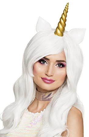 Boland 85816 peluca Unicornio con cuerno, One size