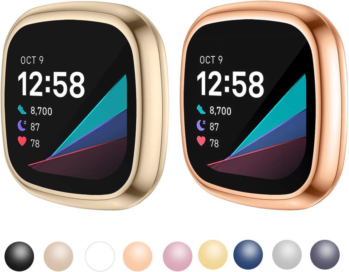 Kimilar Schutzhülle Kompatibel Mit Fitbit Sense Elektronik