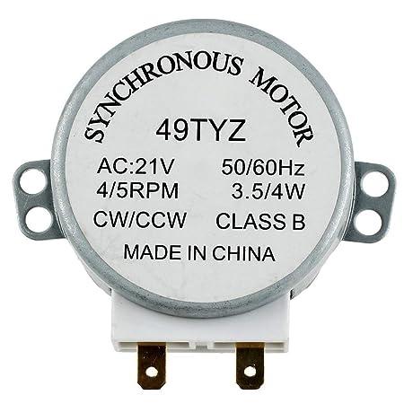 HarmonyHappy - Microondas para Motor sincronizado, 5/6RPM21V ...