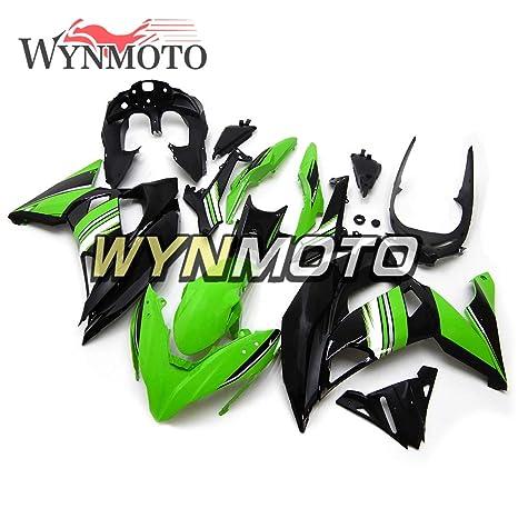 Amazon.com: WYNMOTO Green Black Full Fairing Kit For ...
