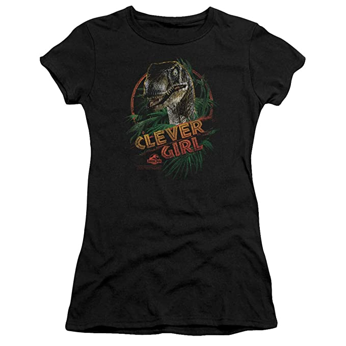 6f7d5975e Jurassic Park - Womens Clever Girl T-Shirt In Black: Amazon.ca ...