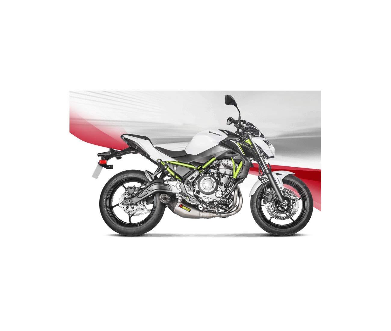 Kawasaki Z650 - Ninja 650 -17/18 - Línea Silencioso titanio ...