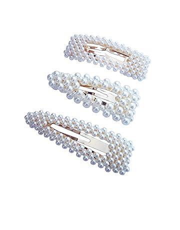Hair Barrettes Hair Pins Decorative Aguder Wedding Bridal Artificial Pearl  Hairpins Handmade Bridesmaid Hair Clips Hair ee7db95f177a