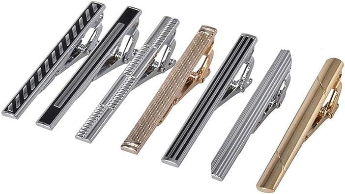 iShine - Juego de broches para Corbata de Metal, 7 Unidades ...