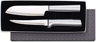 product image for Rada Cutlery Two Piece Knife Stainless Steel Cook's Choice Gift Set with Aluminum, 8 Inches, Silver Handle
