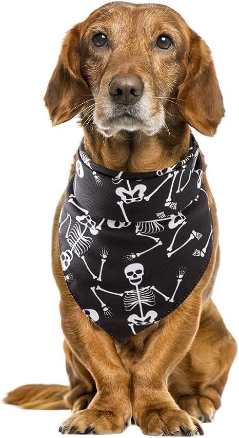 Handfly Pañuelo para Perros de Halloween Bufanda para Perros Gatos ...