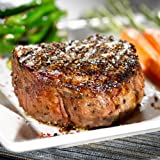 4 (8 oz) Meyer Natural Angus Prime Filet Mignon Steaks