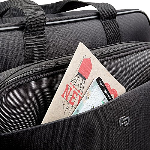 Solo Empire 17.3 Inch Rolling Laptop Case, Black by SOLO (Image #4)
