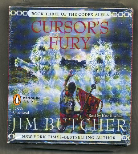 Cursor's Fury by Jim Butcher Unabridged CD Audiobook (Codex Alera Series Book 3) (Dead Beat By Jim Butcher compare prices)