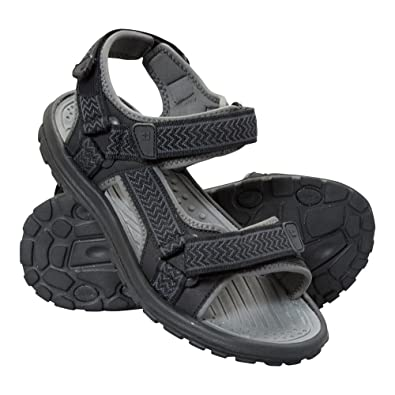 MENS SANDALS GUK WELLBEING FITNESS SIZE 7 GRAY